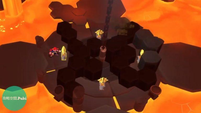 溶岩の洞窟攻略1画像