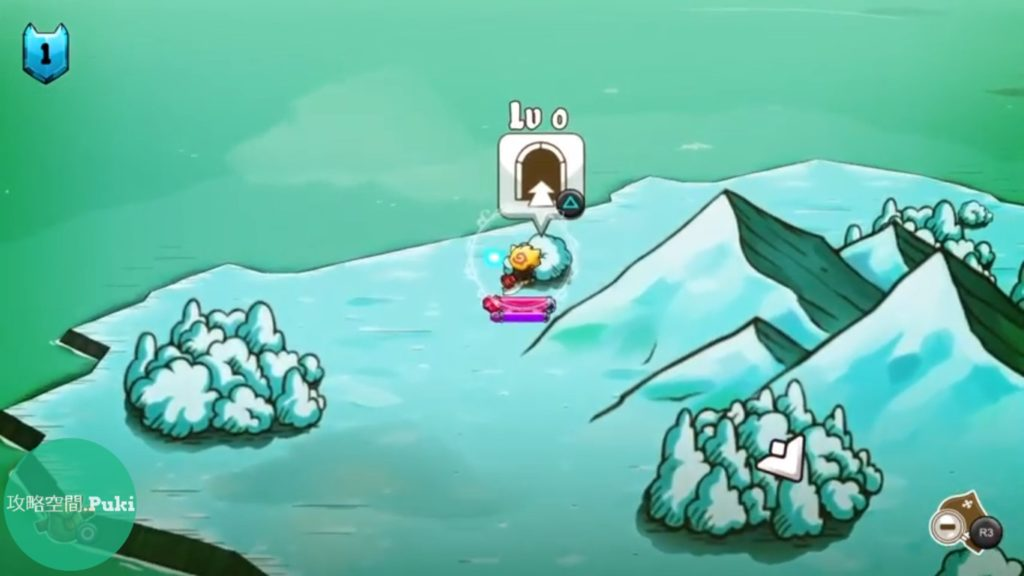 ニャーゲーム 秘密の洞窟画像